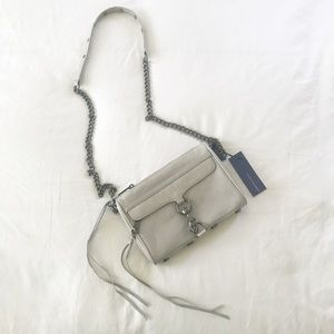 Rebecca Minkoff Mini MAC crossbody grey NEW